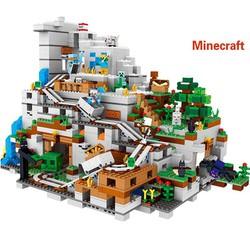 Đồ Chơi Lắp Ráp Minecraft – Đồ Chơi Xếp Hình Dành Cho Trẻ Em Miếng Xếp Bằng Nhựa ABS Không Hại Cho Sức Khỏe Của Bé, Xếp Được Đúng Như Ảnh
