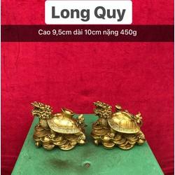 Tượng Long Quy bằng đồng