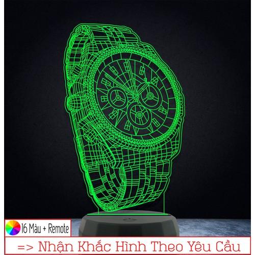 Đèn led 3d trang trí hình đồng hồ – qùa tặng độc đáo, đèn trang trí, đèn để bàn, đèn phòng ngủ, thiết kế khắc hình theo yêu cầu - 21333339 , 24573975 , 15_24573975 , 139000 , Den-led-3d-trang-tri-hinh-dong-ho-qua-tang-doc-dao-den-trang-tri-den-de-ban-den-phong-ngu-thiet-ke-khac-hinh-theo-yeu-cau-15_24573975 , sendo.vn , Đèn led 3d trang trí hình đồng hồ – qùa tặng độc đáo, đèn