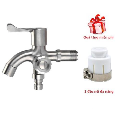 Vòi máy giặt - vòi nước inox 304 đa năng - tặng đầu nối đa năng - 21322154 , 24559223 , 15_24559223 , 260000 , Voi-may-giat-voi-nuoc-inox-304-da-nang-tang-dau-noi-da-nang-15_24559223 , sendo.vn , Vòi máy giặt - vòi nước inox 304 đa năng - tặng đầu nối đa năng