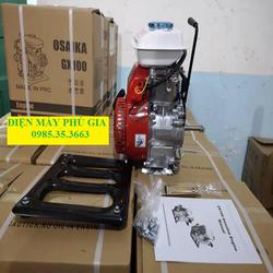 MÁY BƠM NƯỚC CHẠY XĂNG, Máy bơm nước GX 100 - OSAIKA GX-100