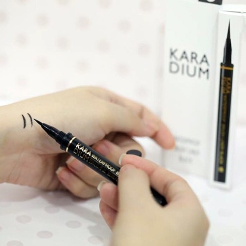 Bút kẻ mắt nước đầu lông karadium waterproof brush liner black ls093 - 21330928 , 24570571 , 15_24570571 , 160000 , But-ke-mat-nuoc-dau-long-karadium-waterproof-brush-liner-black-ls093-15_24570571 , sendo.vn , Bút kẻ mắt nước đầu lông karadium waterproof brush liner black ls093