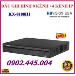 Đầu ghi hình 8 kênh 5 trong 1 KBVISION KX-8108H1  hỗ trợ cùng lúc xác kênh CVI-TVI-AHD-ANALOG-IP  1080P