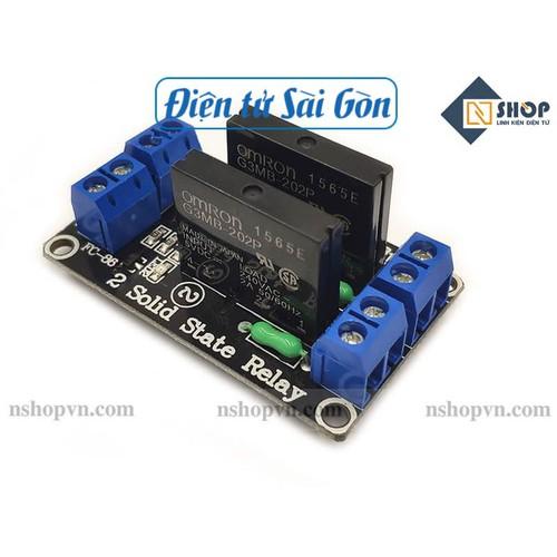 Module 2 relay rắn ssr 5vdc - 21324055 , 24561542 , 15_24561542 , 75000 , Module-2-relay-ran-ssr-5vdc-15_24561542 , sendo.vn , Module 2 relay rắn ssr 5vdc