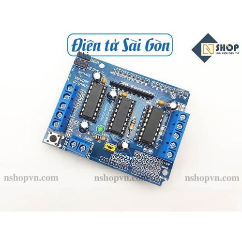 Arduino motor shield l293d - 21319343 , 24555764 , 15_24555764 , 34000 , Arduino-motor-shield-l293d-15_24555764 , sendo.vn , Arduino motor shield l293d