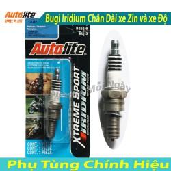 Bugi Racing Iridium Autolite dành cho xe độ Future 125, Fu Neo, Luvias