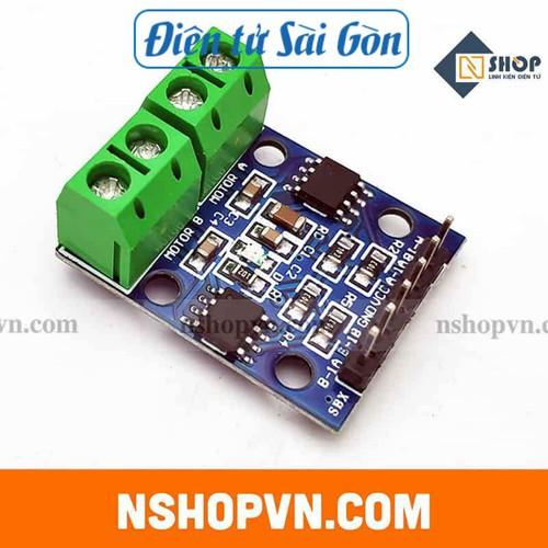 Mạch điều khiển động cơ dc l9110s - 21321322 , 24558229 , 15_24558229 , 20000 , Mach-dieu-khien-dong-co-dc-l9110s-15_24558229 , sendo.vn , Mạch điều khiển động cơ dc l9110s