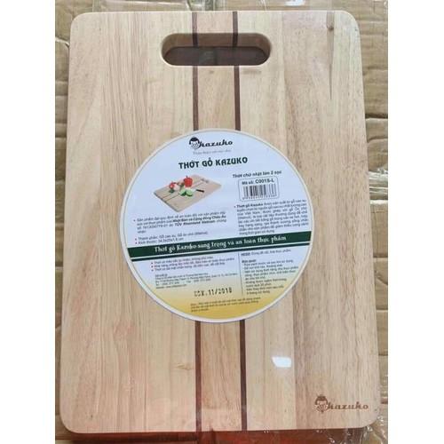 Thớt gỗ hình chữ nhật cao cấp kazuko hàng xuất cỡ lớn - 21327559 , 24565490 , 15_24565490 , 199000 , Thot-go-hinh-chu-nhat-cao-cap-kazuko-hang-xuat-co-lon-15_24565490 , sendo.vn , Thớt gỗ hình chữ nhật cao cấp kazuko hàng xuất cỡ lớn