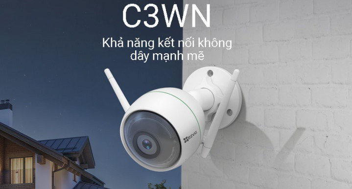 Camera IP Wifi than EZVIZ C3W CS-CV310 1080P kết nối wifi
