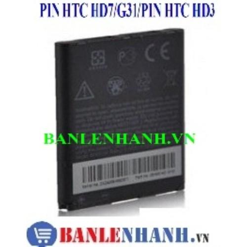 Pin htc hd3 a9292