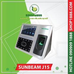 Máy chấm công vân tay và khuôn mặt SUNBEAM J15