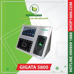 Máy chấm công vân tay và khuôn mặt GIGATA 5800