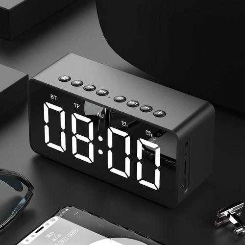 Loa bluetooth kèm đồng hồ sang trọng