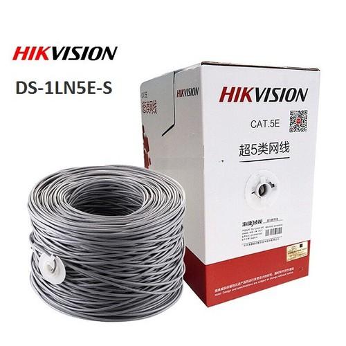 Cáp mạng cat5e utp hikvision ds-1ln5e-s - 21345410 , 24590809 , 15_24590809 , 1628000 , Cap-mang-cat5e-utp-hikvision-ds-1ln5e-s-15_24590809 , sendo.vn , Cáp mạng cat5e utp hikvision ds-1ln5e-s