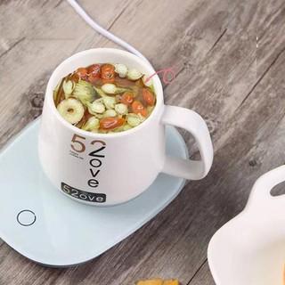 Máy hâm nóng đồ uống Tặng kềm cốc sứ - Đế hâm nóng đồ uống - CHN -1 thumbnail