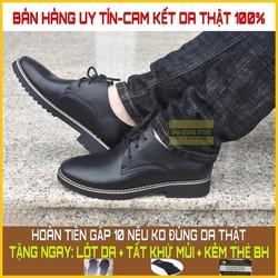 Giày nam da bò