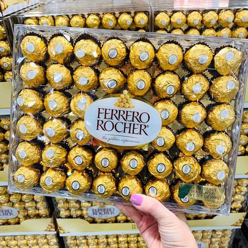 Kẹo socola ferrero rocher® fine hazelnut chocolates, 600g - 21341946 , 24586093 , 15_24586093 , 460000 , Keo-socola-ferrero-rocher-fine-hazelnut-chocolates-600g-15_24586093 , sendo.vn , Kẹo socola ferrero rocher® fine hazelnut chocolates, 600g