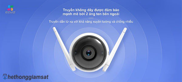 Camera IP Wifi Thân EZVIZ C3WN CS-CV310-A0-1C2WFR 1080P