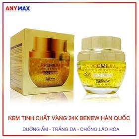 Kem dưỡng da tinh chất vàng trắng da Benew Gold Cream 50ml - Kem tinh chất vàng Benew