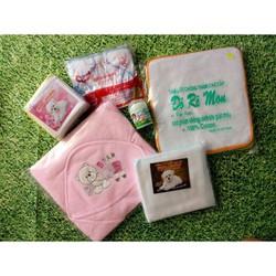 Combo khăn tả cho bé sơ sinh