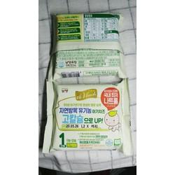 Phô mai hữu cơ tách muối Hàn Quốc gói 10 miếng - Phô mai hữu cơ