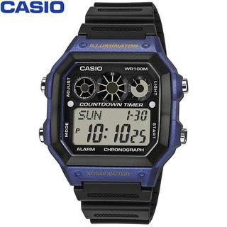 Đồng hồ CASIO nam - Dây Nhựa - Đen - AE-1300WH-2AVDF - AE-1300WH-2AVDF 01 thumbnail