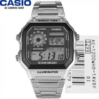 Đồng hồ CASIO nam - Dây Kim Loại - Trắng - AE-1200WHD-1AVDF - AE-1200WHD-1AVDF 01 thumbnail