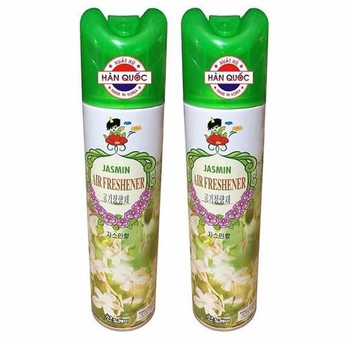 Combo 2 chai xịt thơm phòng khử mùi sandokaebi korea 370ml cs171