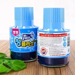 Bộ 2 Chai thả diệt khuẩn làm thơm bồn cầu toilet Mr.Fresh Hàn Quốc