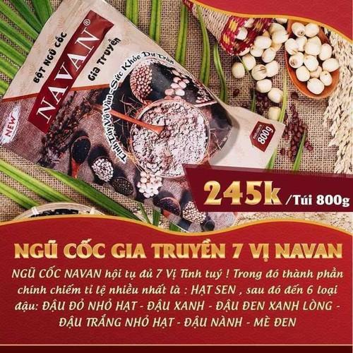 Bột ngũ cốc navan - 21375217 , 24629107 , 15_24629107 , 245000 , Bot-ngu-coc-navan-15_24629107 , sendo.vn , Bột ngũ cốc navan