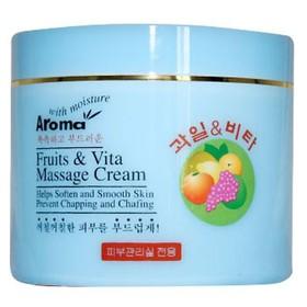 [Chính hãng] Kem Massage Trái Cây Aroma Fruit Vita Massage Cream 480ml - SP994-1