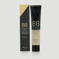 Kem trang điểm BB che khuyết điểm chống nắng SPF50+PA+++ Natinda Real Magic Cover Sun BB Cream 50g xuất xứ Hàn Quốc