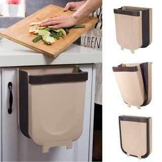 Thùng rác thông minh gấp gọn treo cửa bếp, cửa tủ tiện lợi - Thùng rác đa năng thumbnail