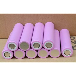 4 pin sạc 18650 hồng 3.7v loại tốt dùng cho đèn pin quạt sạc nghe pháp