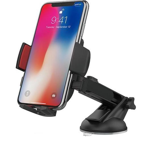 Giá đỡ điện thoại hoco cad01 cao cấp giữ chắc điện thoại bằng 3 chân kẹp tự động, xoay 360 độ tiện dụng, chất liệu nhựa abs chắc chắn, bền bỉ, tương thích với nhiều thiết bị - 21368433 , 24620650 , 15_24620650 , 120000 , Gia-do-dien-thoai-hoco-cad01-cao-cap-giu-chac-dien-thoai-bang-3-chan-kep-tu-dong-xoay-360-do-tien-dung-chat-lieu-nhua-abs-chac-chan-ben-bi-tuong-thich-voi-nhieu-thiet-bi-15_24620650 , sendo.vn , Giá đỡ điệ