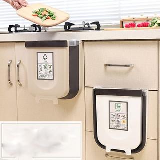 Thùng Rác Gấp Gọn Thông Minh, Treo Cửa Bếp Cửa Tủ Tiện Lợi - Thùng rác thông minh thumbnail