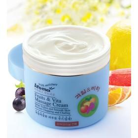 [Chính hãng] Kem Massage Trái Cây Aroma Fruit Vita Massage Cream 480ml - SP994