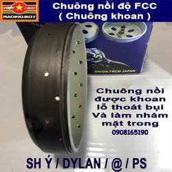 Chuông nồi độ FCC - Tăng tốc mượt, Chống rung đầu cho xe SH Ý, DYLAN, PS, SHVN