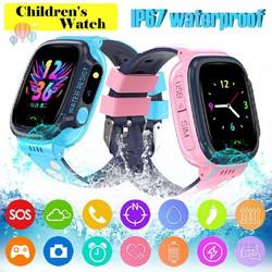 Đồng hồ thông minh Y92 định vị trẻ em bằng wifi chống nước có camera có đèn pin hỗ trợ tiếng Việt