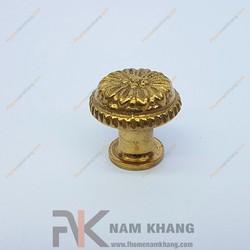 Núm kéo cửa tủ đồng vàng NKD028