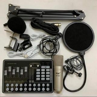 Combo mic thu âmmic AT100 sound card H9 Pro - Combo mic thumbnail