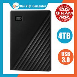 Ổ cứng di động Western 4TB 2TB my passport USB 3.0 new version