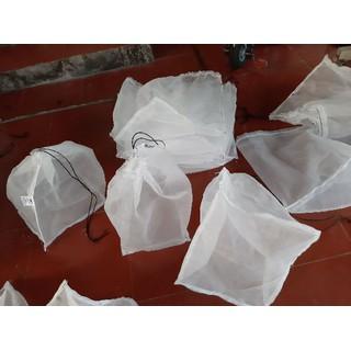 combo 10 túi đựng côn trùng - tôm cua cá - 1500 2