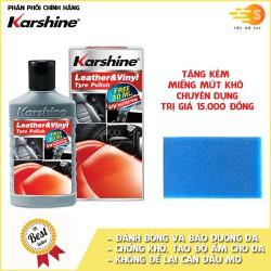 Kem chăm sóc và bảo dưỡng nội thất ô tô Karshine KA-DA155 155ml