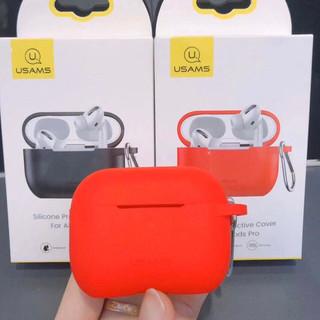 Bao silicon bảo vệ AirPods Pro Usams sang trọng - PKQA9825 thumbnail