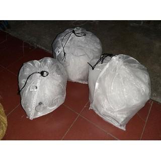 combo 10 túi đựng côn trùng - tôm cua cá - 1500 3