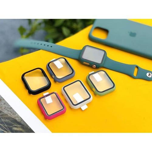 Ốp viền + mặt kính bảo vệ apple watch