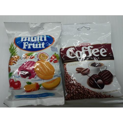 Combo 2 gói kẹo tayas thổ nhĩ kỳ 90g vị trái cây và cafe