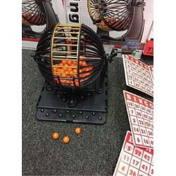 Bộ lô tô bingo 90 số siêu hot lồng to