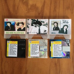 Bộ 3 Đĩa MD Mini Disc Nhạc Vàng Song Ca huyền thoại